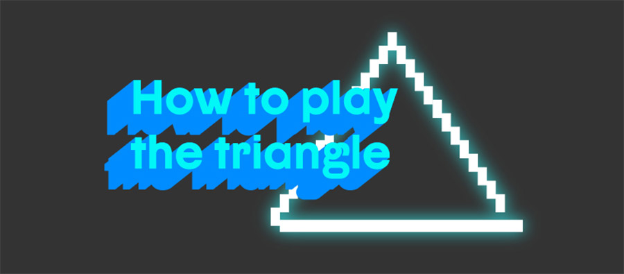 how to play triangle